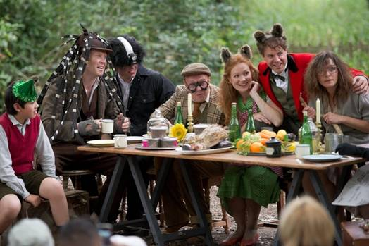 Fantastic Mr Fox opera in Holland Park
