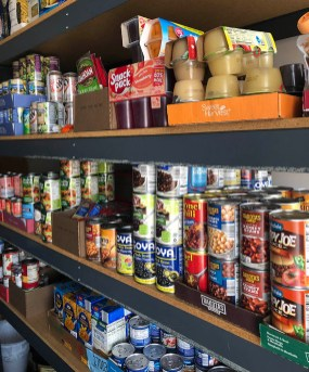 Riverside Township's food pantry serves residents of the township through donations they receive and from funds set aside in the township budget. (PROVIDED)