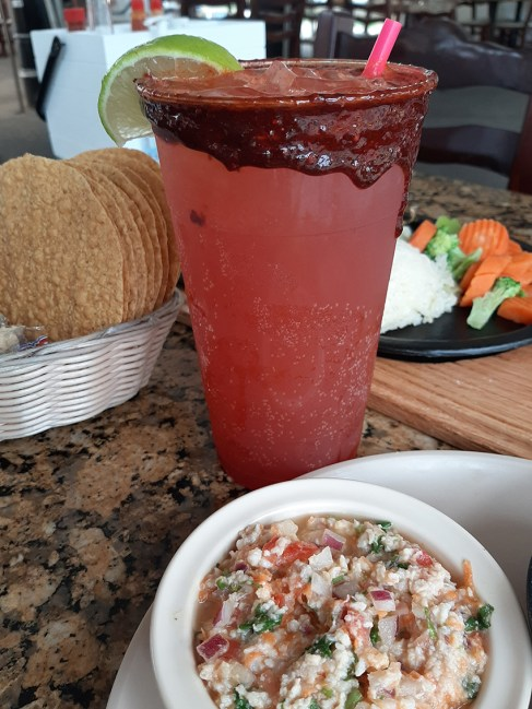 Looking for a beertail? Check out the Las Islas michelada