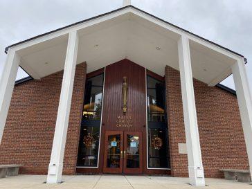 Mater Christi Church, 2431 10th Ave., North Riverside (BOB UPHUES/Editor)