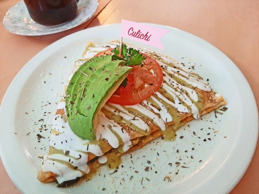 No sweet tooth? Savory poblano crepes are festive and filling.