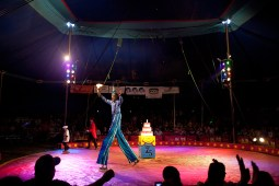 The closing act recognizes the circus' 75th year.