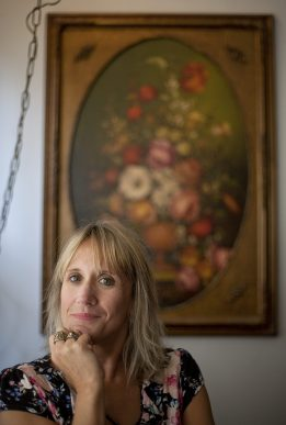 Author Karen Berg-Raftakis, of Brookfield, is currently writing her third murder-mystery novel in a series.