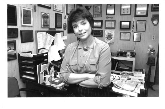 Topinka as a state senator in 1988.