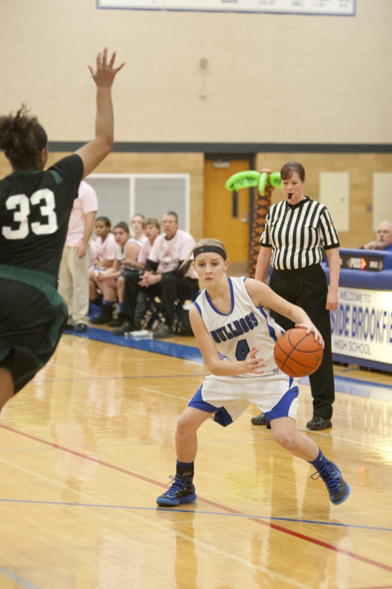 RBHS sophomore guard Lyndsey Hoyd can score in a variety of ways and she's a good defender. (File photo)