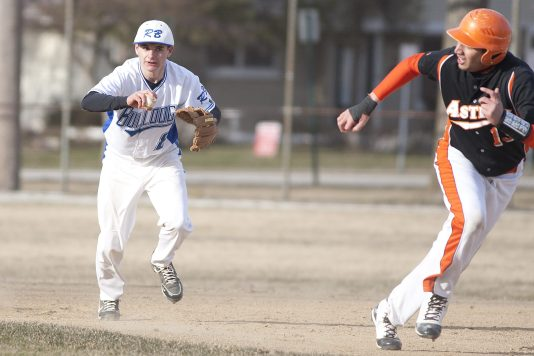RBHS senior shortstop Kevin Fitzgerald, left, is a three-year starter who batted .319 last season. (File photo)