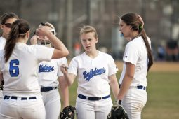 RBHS senior Caitie Rusen, center, is an experienced utility player for the Bulldogs. (File photo)