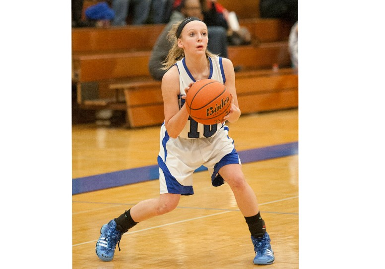 Junior guard Samantha Bloom is a tremendous scorer and playmaker for the RBHS girls basketball team. (File photo)