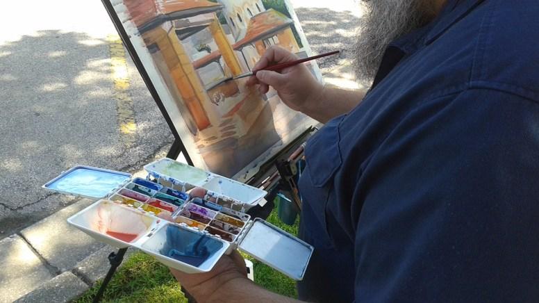 Joe Abboreno founded In Art Pursuit.