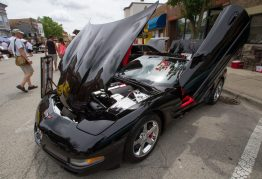 """The """"Italian Stallion"""", a 2004 Corvette C-5 Convertaible owned by DJ Mike Heavrin.   Jennifer T. Lacey/Contributor"""