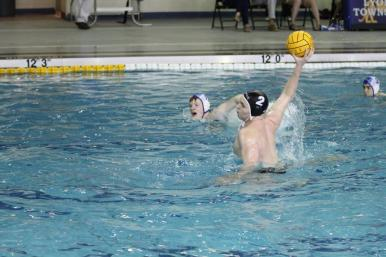 Danny Farmer, Matt's younger brother, just finished his stellar water polo career at Fenwick where he contributed to the Friars' three straight top 3 finishes in the state playoffs. Danny will play college water polo at Bucknell. (Courtesy Jim Farmer)