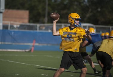 LTHS sophomore quarterback Ben Bryant has the physical tools and intangibles to be a leader for the Lions. (William Camargo/Staff Photographer)