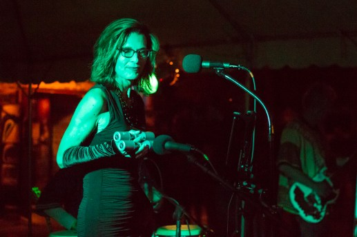 Alewife, a Latin inspired instrumental band, performs at Fong Fest. | Stacey Rupolo/Contributor