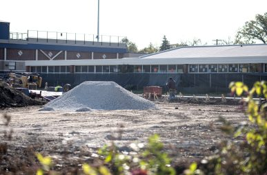 The village of Brookfield says construction by RBHS on land next to Hollywood School has not been permitted and needs to be halted. | William Camargo/Staff Photographer