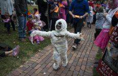 "Charlotte Ehrenhaft won ""scariest costume"" in the 4 and under age group. | William Camargo/Staff Photographer"
