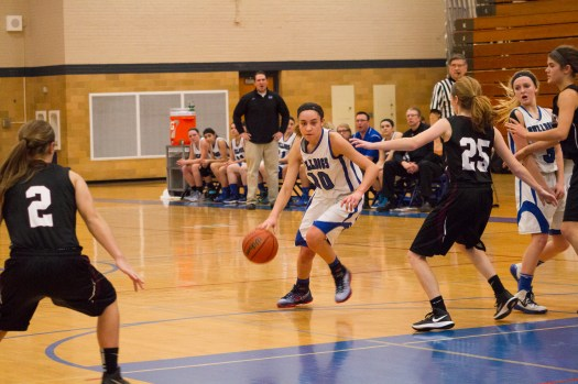RBHS guard/forward Jess JnoBaptiste has contributed to the Bulldogs' success with her ability to score, rebound, pass and defend. (File photo)