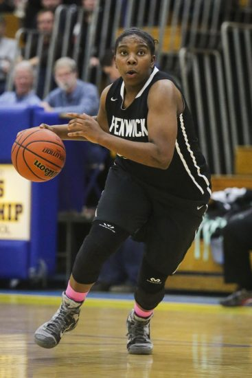 Senior Kiki Sheard is a triple-threat offensive player who also provides leadership and toughness for Fenwick. (File photo)