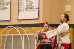 The Moravian Cultural Society performs traditional dances. | Stacey Rupolo/Contributor
