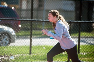 RBHS junior Maddie Hopek was fourth at sectionals in the 100 high hurdles and 300 low hurdles in 2015. (William Camargo/Staff Photographer)