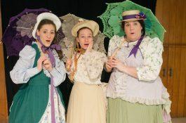 "Kim Jargstorf, Sarah Newland and Paula Rada in the North Riverside Players' production of ""The Pirates of Penzance"" (Photo provided)"
