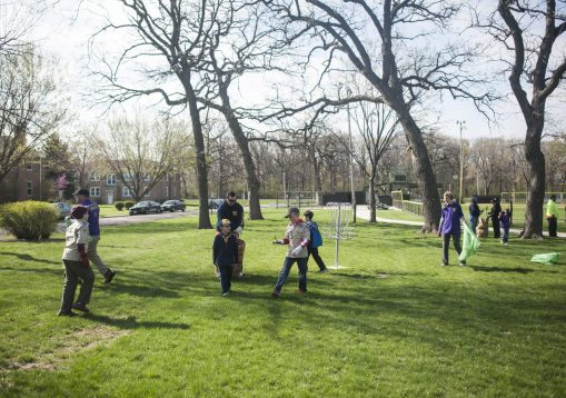 Brookfield Beautification Commission's spring Project NICE community-wide cleanup day, which drew hundreds of volunteers who scattered out across Brookfield on the morning of April 23 to spruce up public parks and other areas. | William Camargo/Staff Photographer