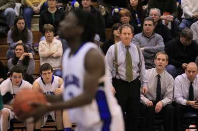 Tom McClosckey RBHS boys basketball coach | File photo