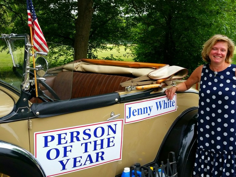 Riverside's Person of the Year, Jennifer White
