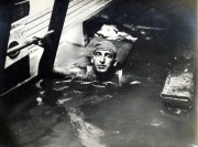 A diver searches for bodies inside the boat. | Courtesy of Eastland Disaster Historical Society