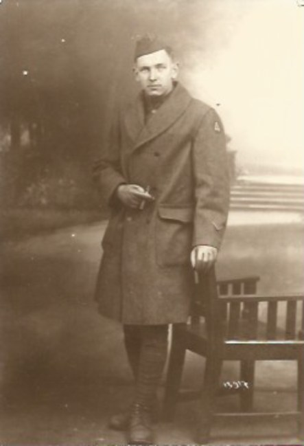 Frank Goyett, Patty Gill's grandfather who survived the disaster, shown four years after the event in 1919, while he was on occupation duty in Germany after WWI. | Courtesy Patty Gill