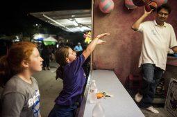 Amanda Buckley shoots a basketball during a carnival game. | William Camargo/Staff Photographer