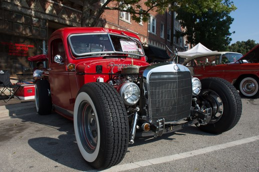 A hot rod at the Riverside annual car show in Centennial Park. | Sebastian Hidalgo/Contributor