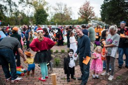 Kids show off their costumes during the contest. | Camargo/Staff Photographer