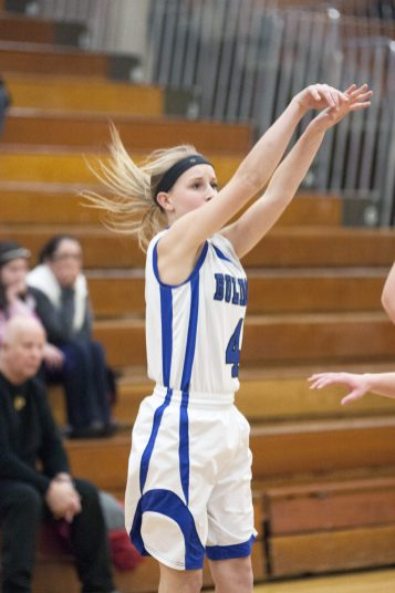 Senior guard Lyndsey Hoyd is a terrific all-around player who can score in a variety of ways. She is a four-year varsity starter. (File photo)