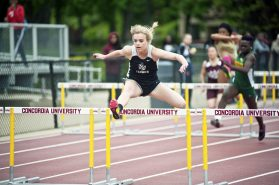 Fenwick track and field star Grace Cronin won a state title in the hurdles at the 2016 state finals. (File photo)