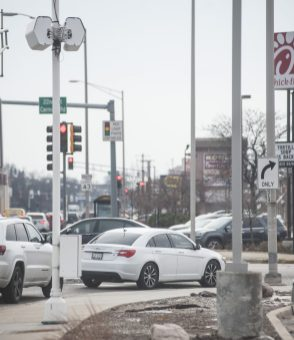 Fine time: Motorists making illegal right turns on red accounted for more than 90 percent of all red-light camera tickets issued along Harlem Avenue between North Avenue and Cermak Road between Jan. 1, 2014 and Oct. 31, 2016. | William Camargo/Staff Photographer
