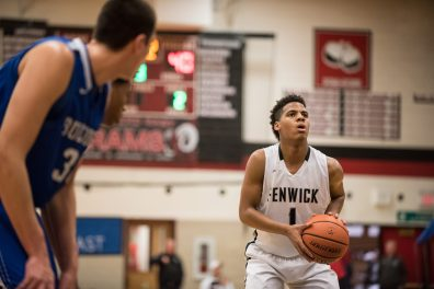 Fenwick senior point guard Jacob Keller does it all for the Friars. Whether its scoring, playmaking, rebounding or playing lockdown defense, Keller is one of the best players in the area. (File photo)