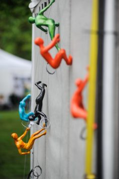 Artwork in display during the Riverside Arts Weekend event in Guthrie Park on May 21. | William Camargo/Staff Photographer