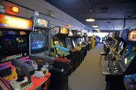 Galloping Ghost houses more than 600 games, lined up in tightly packed rows throughout multiple Ogden Avenue storefronts. The arcade will expand again soon, allowing it to hold about 800 games. | Alexa Rogals/Staff Photographer