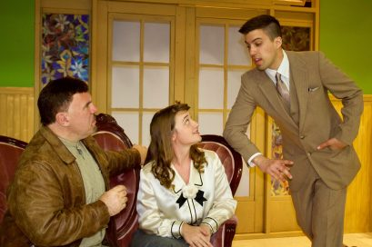 North Riverside Players have kicked off their 2017-18 season with the Agatha Christie classic mystery And Then There Were None in the gym of the North Riverside Village Commons, 2401 Desplaines Ave.