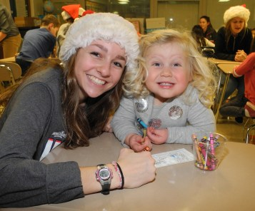 Kids in kindergarten through third grade are invited to write letters to Santa at Lyons Township High School's Holiday Write Night event at the South Campus Discovery Center, 4900 S. Willow Springs Road in Western Springs on Tuesday, Dec. 5.