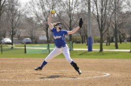 RBHS pitcher Nora Dakota played a big role in the Bulldogs' resurgence in 2017. After a 10-18 season in 2016, RBHS responded with a 26-10 campaign this year. (File photo)