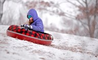 Riverside didn't get a lot of snow, but it was enough to attract kids to the sledding hill at Swan Pond Park in the past couple of weeks. Even a single-digit cold snap couldn't keep sledding daredevils away.   Alexa Rogals/Staff Photographer