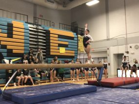 RBHS gymnast Amber O'Brien is one of the Bulldogs' best all-arounders. (Courtesy Karyn Domzalski)