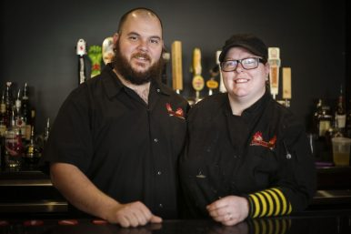 Dan and Brenna Velcich, owners of Burger Antics (File)