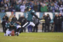 Philadelphia Eagles rookie kicker Jake Elliott set six records this season, three Eagles records and three NFL records. He's also a Super Bowl champion. (Photo courtesy of Philadelphia Eagles)