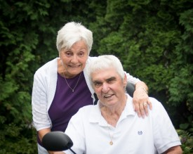Dan and Mary Margaret Hull will be married 49 years in April. Dan was a Brookfield police officer for 20 years before going into the tavern business, all the while coaching dozens of youth and adult sports teams, including the 1985 Little League World Series softball champs. | Provided