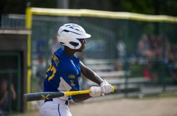 Mesfin Duwell provided quality pitching and overall play for the Brookfield Nationals at the Illinois District 9 Little League Baseball Tournament at Kiwanis Park. (Alexa Rogals/Staff Photographer)