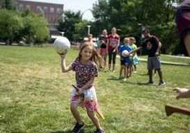 Have you always wanted to pretend you're Harry Potter, playing Quidditch at Hogwarts? Well, you'll get a chance to come close at North Riverside Public Library, 2400 Desplaines Ave., on Saturday, Sept. 29 at 1 p.m.
