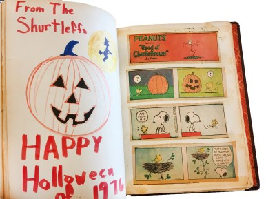 "A Halloween ""guest book"" signed by Riverside trick-or-treaters at a Bartram Road home for 60 years from 1946 to 2006 is on display at the Riverside Historical Museum on Saturdays and by appointment through the end of the year."