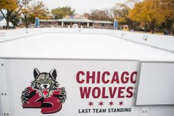 The Chicago Wolves Skating Rink is seen on Nov. 1, at Brookfield Zoo. | ALEXA ROGALS/Staff Photographer